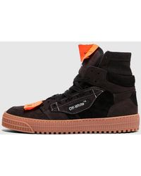 Off-White c/o Virgil Abloh - Off Court Suede Sneaker - Lyst