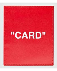 Off-White c/o Virgil Abloh - Quote Cardholder - Lyst