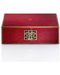 Shanghai Tang - Lacquer Shagreen Stingray Watch Box - Lyst