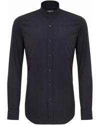 Shanghai Tang - Stand Up Collar Shirt - Lyst