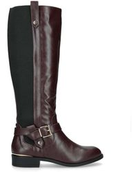 f3e5eafed11 Taylor No Heel High Leg Boots Wine