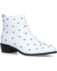 bdd7daa67be2 Mia Block Heel Lace Up Back Over Knee Boot. £45 £19 (55% off). Boohoo ·  Bronx - Mia - Lyst