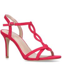 Nine West - Fushia 'demi' Mid Heel Sandals - Lyst