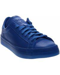 best loved 5e5c7 75cdb adidas - Courtvantage Adicolor - Lyst