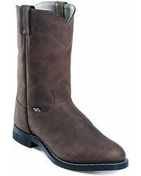 Justin Boots - Crazy Cow - Lyst