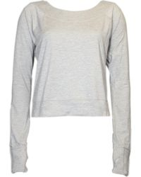 Asics - Asx Lux Boat Neck Long Sleeve - Lyst