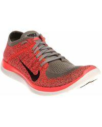 Nike - W Nk Free 4.0 Flyknt - Lyst