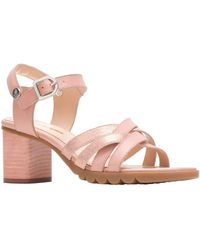 Hush Puppies Griffon Quarter Strap - Pink
