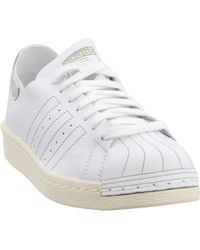ae27b6f80acde Lyst - adidas Originals Stan Smith Decon Trainers In Blue S80505 in ...