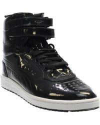 12b0dc33b513 PUMA - Sky Ii High Patent Emboss Athletic & Sneakers - Lyst