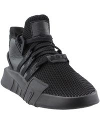 Lyst - adidas Eqt Basketball Adv Trainers in Black for Men 22f4a47ed