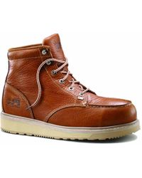 Timberland - 6 Inch Barstow Wedge Alloy Toe Work Boots - Lyst