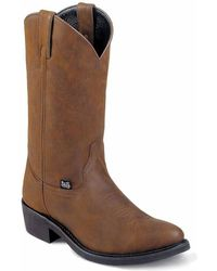 Justin Boots - Crazy Cow 12inch - Lyst