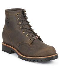 Chippewa Boots - Chocolate Apache 6 Inch Lace Up - Lyst