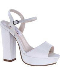 8d1e8c67c94 Lyst - Steve Madden Marena Slingback Platform Sandal (women)