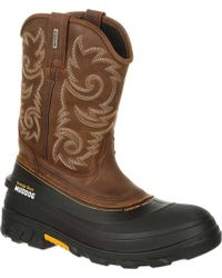 Georgia Boot - Gb00244 Muddog Waterproof Western Wellington Boot - Lyst