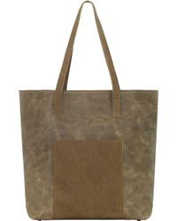 TRUELU - Olivia Leather Tote Bag - Lyst