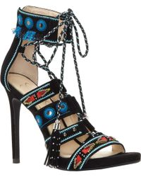 ad0791eee Lyst - Sam Edelman Azela Ghillie Dress Sandals in Blue