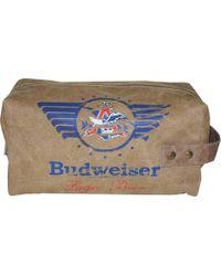 Buxton - Budweiser Single Zip Travel Kit - Lyst