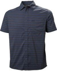 Helly Hansen - Borre Short Sleeve Shirt - Lyst