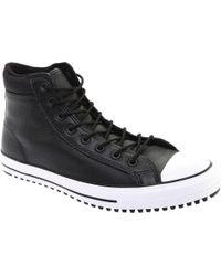 5e8b548782f9 Converse - Chuck Taylor All Star Hi Padded Collar Boot - Lyst