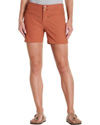 "Toad&Co - Flextime Short 5"" Inseam - Lyst"