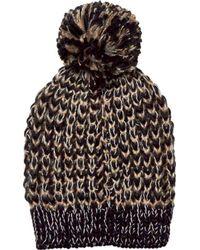 San Diego Hat Company - Metallic Yarn Beanie With Pom Knh3604 - Lyst