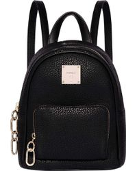 Fiorelli - Mini Convertible Faux Leather Backpack - Lyst