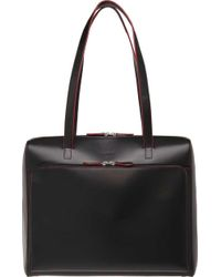 Lodis - Audrey Rfid Zip Top Tote With Organization - Lyst