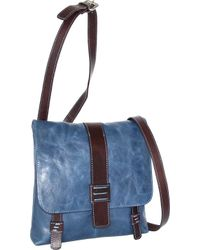 Nino Bossi - Zoey Small Leather Messenger Bag - Lyst