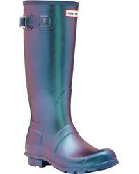 HUNTER - Original Tall Nebula Rain Boot - Lyst
