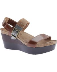 Naot - Alpha Wedge Sandal - Lyst