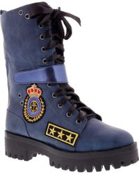 ccfd4df2750 Penny Loves Kenny - Nomad Folded Combat Boot - Lyst