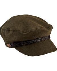 San Diego Hat Company - Cabbie Newsboy Cap With Braid Trim/buckle Cth8083 - Lyst