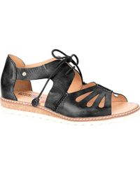 Pikolinos Alcudia Lace Up Sandal W1L-0917(Women's) -Brandy Leather Countdown Package e7muNR