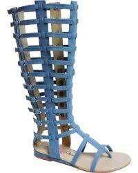 Penny Loves Kenny - Copa Gladiator Sandal Boot - Lyst