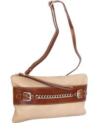 Nino Bossi - Clarisse Leather Convertible Clutch - Lyst