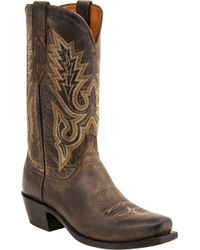 Lucchese Bootmaker - Lewis 7 Toe Western Boot - Lyst