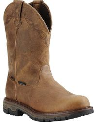 Ariat - Conquest Round Toe H2o Insulated 400g Cowboy Boot - Lyst
