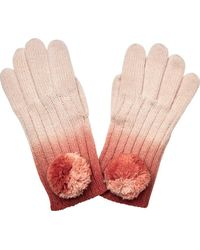 San Diego Hat Company - Ombre Dye Knit Glove With Pom Kng3516 - Lyst