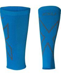 b44a4ca960 adidas Copa Alphaskin Calf Sleeve in Blue for Men - Lyst