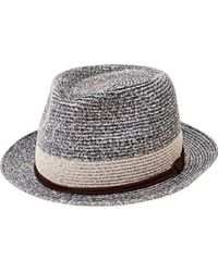 San Diego Hat Company - Paper Packable Fedora Pbf7333 - Lyst