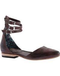 Freebird by Steven - Eden Closed Toe Ankle Strap Sandal - Lyst