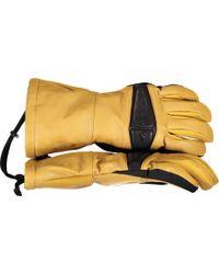 Obermeyer - Eclipse Leather Glove - Lyst