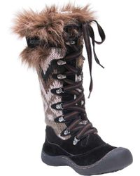 Muk Luks - Gwen Tall Lace Up Snow Boot - Lyst