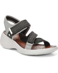 ecb8d7938d8a Bzees - Jive Wedge Sandals - Lyst