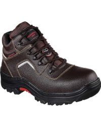 Skechers - Work Relaxed Fit Burgin Sosder Comp Toe Boot - Lyst