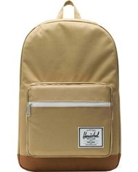 59e11b5b7a4 Lyst - Herschel Supply Co. Pop Quiz Cotton Canvas Backpack for Men