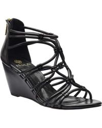 Isola - Floral Strappy Sandal - Lyst