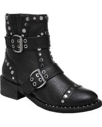 Sam Edelman - Drea Diablos Leather Biker Boots - Lyst
